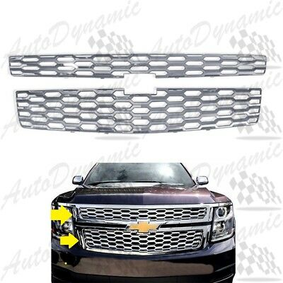 For 2015 2016 2017 2018 2019 Chevrolet Tahoe Clip On Grille Overlays Unit