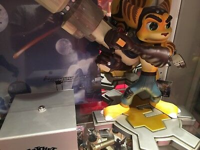 Ratchet & Clank GAMING HEADS REGULAR Statue Maquette Figure - Neuf / MINT IN BOX