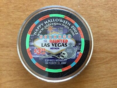 2002 HALLOWEEN CHIP $3.33 October 31st. 2002