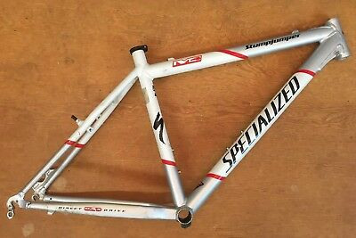 SPECIALIZED STUMPJUMPER M4 2002 White Mountain Bike Frame 19""
