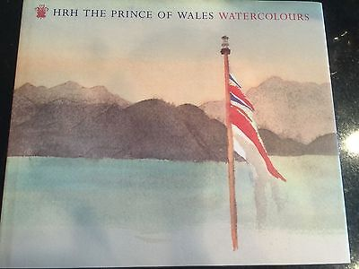 HRH The Prince of Wales Watercolours Hardcover Book  **FIRST EDITION SEALED**