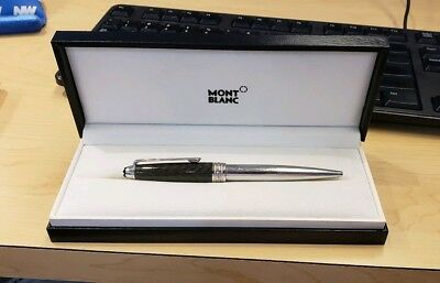 Montblanc Solitaire - Weaved Carbon Steel Ballpoint