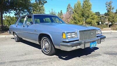 1983 Buick Electra Limited Very Clean RUSTFREE California Low Mileage Sedan! NO RESERVE AUCTION!!