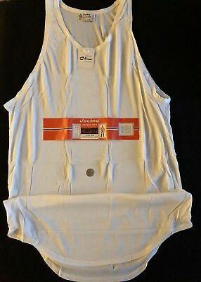 Vintage Mens Sleeveless Contoured Shirt Underwear XL Jockey Coopers NOS 46-48