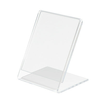 Clear Acrylic Displays Slanted Sign Holders Tag Name Card Photo Holder ect.
