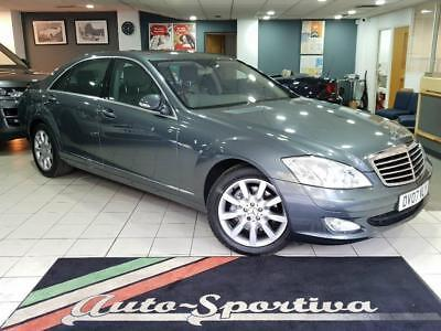 2007 Mercedes-Benz S Class 3.0 S320 CDI L 7G-Tronic 4dr Diesel grey Automatic