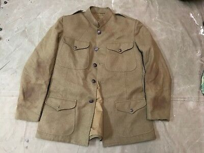 99L Wwi Us M1917 Wool Field Tunic- Size Medium/large 42R