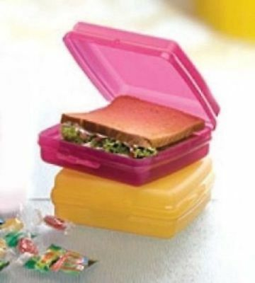 Set Of 2 Tupperware Sandwich Keeper ( Air & Water Tight) + Free Shipping
