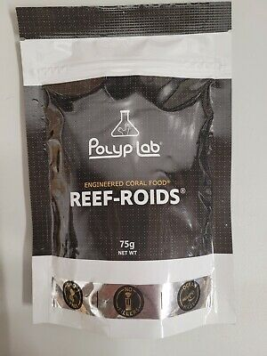 POLYPLAB REEF ROIDS CORAL FOOD AND NUTRITIONAL SUPPLEMENT 60 grams - FISH