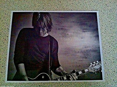 Keith Urban Country Music Singer Black & White Glossy 11 X 14 Large Photo