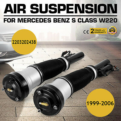 Front Air Suspension Strut For Mercedes S Class W220 00-06 S320/S400 CDI S350 AM