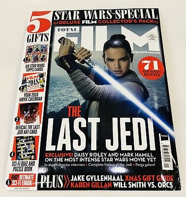 TOTAL FILM MAGAZINE Star Wars The Last Jedi Special Edition PACK (NEW BACK I