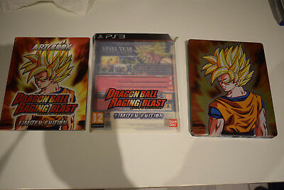 dragon ball raging blast limited edition steelbook ps3 playstation 3 ps 3