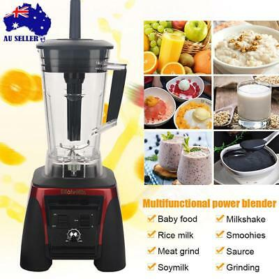 2200W 2L Commercial Blender - Mixer Juicer Food Processor Smoothie Ice Crush