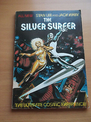Fireside: Silver Surfer The Ultimate Cosmic Experience, Lee/kirby, 2Nd Prt, 1978