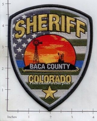 Colorado - Baca County Sheriff CO Police Dept Patch