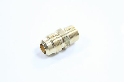 """Lot of 30 Brass Flare 5/16"""" OD x 1/8"""" Male NPT Connector / Adapter Tube Fitting"""