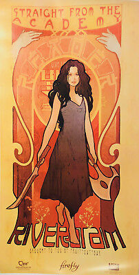 Firefly (Art Nouveau) RIVER TAM Poster Firefly Loot Cargo Crate March 2018