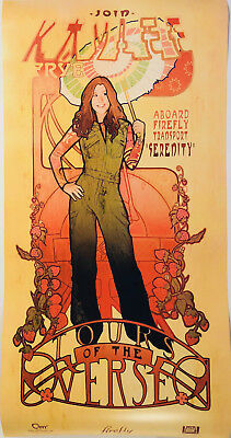Firefly (Art Nouveau) KAYLEE FRYE Poster Firefly Loot Cargo Crate March 2018