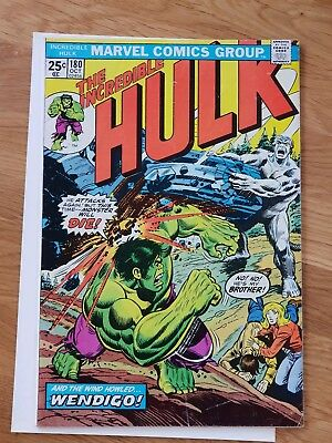 The Incredible Hulk 180 (first cameo appearance of Wolverine)