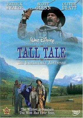 Tall Tale The Unbelievable Adventure Patrick Swayze DVD PG NEW FREE SHIPPING