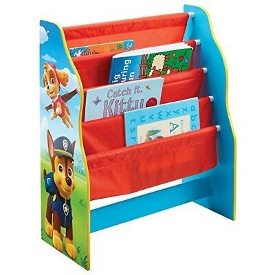 Paw Patrol Kids Sling Bookcase - Bedroom Storage by HelloHome - Everest, Chase,