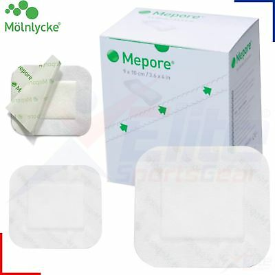 Molnlycke Mepore Surgical Wound First Aid Fabric Adhesive Dressing - Sterile