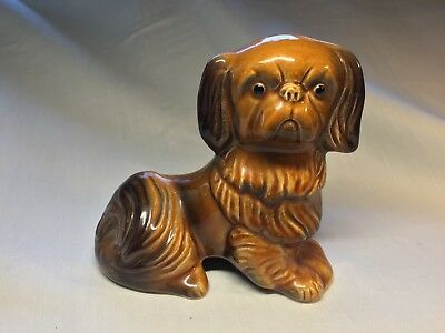 Cute Dog Figurine by Eastgate Pottery c1960