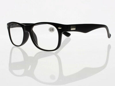 Men Rectangle Retro Vintage Johnny Depp Style Myopia Glasses Short Sight Glasses