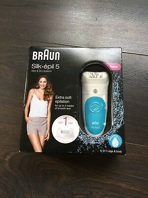 Braun Silk Epil 5 Wet And Dry Epilator
