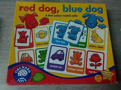 Toys & Hobbies Educational Orchard Toys Red Dog Blue Dog