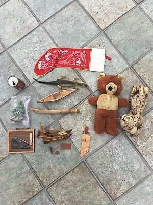 Childhood Memories LOT Teddy Bear, Coke Can, Clock, Souvenirs