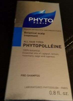 Phytopolleine Botanical Scalp Treatment, PHYTO PARIS, 0.8 oz, NEVER OPENED