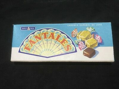 Vintage Sweetacres Fantales Box Mint Condition Judy Stone