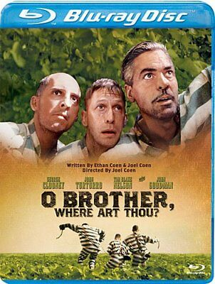O Brother Where Art Thou? George Clooney Blu-ray PG-13 NEW FREE SHIPPING