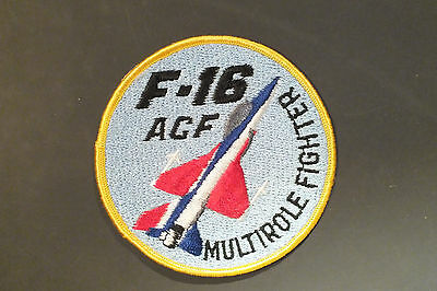 Vintage F-16 Air Combat Fighter Patch Genera Dynamics ACF Multirole Fighter