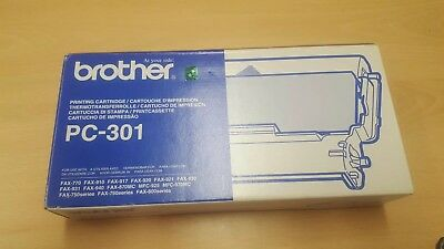 OFFICIAL BROTHER PC-301 Printing Cartridge. Fax.