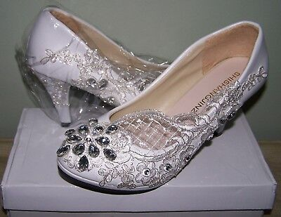 Stunning Wedding Shoes For Bride - Size 39 - New In Box