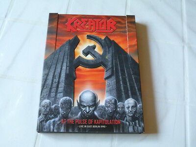 KREATOR At the pulse of Kapitulation - Live in East Berlin 1990 CD+DVD !