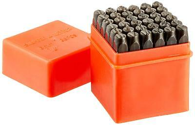 1/4 Inch Steel Letter Number Stamp Knifemaking Blacksmith Burner Punch Set 36 Pc