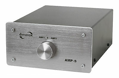 Dynavox Amplifier/Speaker Switch Silver AMP-S