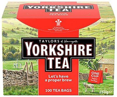 Taylors Yorkshire Tea One Cup String and Tag Tea Bags (Pack of 100)