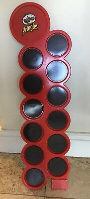 Novelty Magnetic Pringles Point Of Purchase Advertising Sales Display Holder Fun