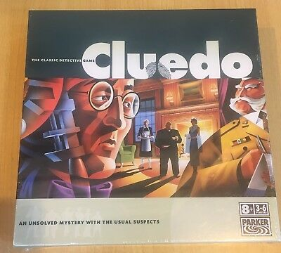 CLUEDO fun family board game SEALED Brand NEW, Murder Mystery