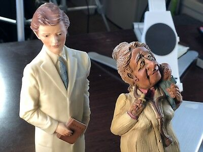 Frumps Figurine Statue Sculpture Dentist Dr. Waters 1991 Painless Dentistry Book