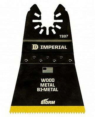 """Imperial Blades IBOAT337-10, ONE FIT 2-1/2"""" Wood w/Nails BM TiN STORM Blade 10Pc"""