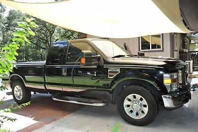 2008 Ford 3/4 Ton Pickup LAREDO 2008 FORD F-250 SUPER DUTY DIESEL TRUCK