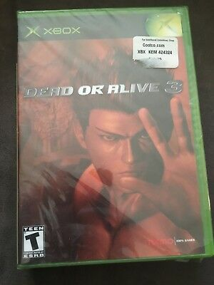 Dead or Alive 3 Microsoft Xbox Sealed!