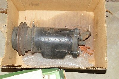 VINTAGE 1960'S CADILLAC (OTHER GM?) AC COMPRESSOR USED CORE FOR REBUILD