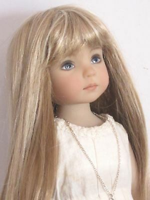 "Doll wig for Little Darling doll 13"" Dianna Effner-7/8""(18/19cm)-blonde mixed"